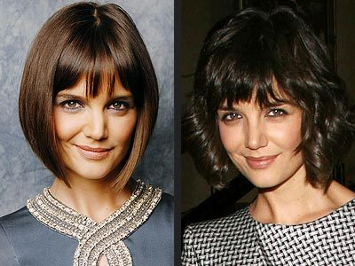katie holmes hairstyle. Katie Holmes Hairstyle – Not
